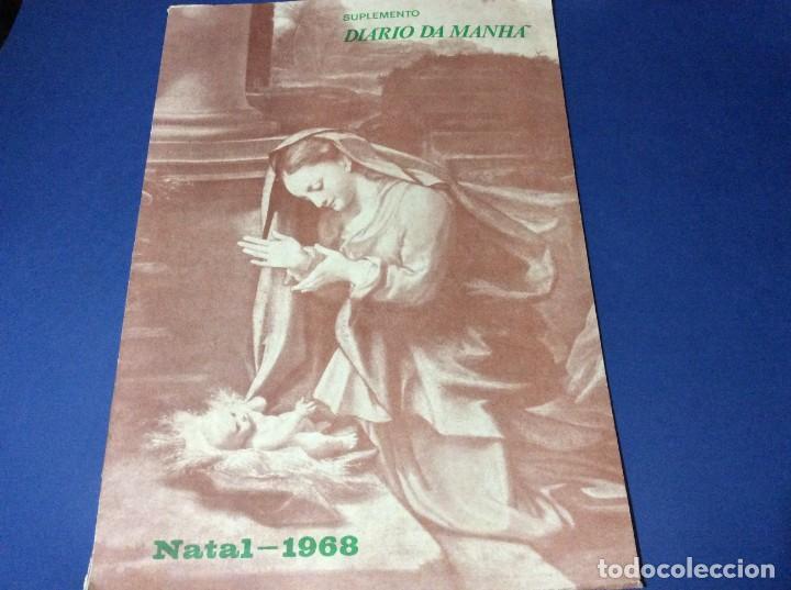 SUPLEMENTO DO DIARIO DA MANHÃ. NAVIDAD 1968 (Coleccionismo - Revistas y Periódicos Modernos (a partir de 1.940) - Otros)