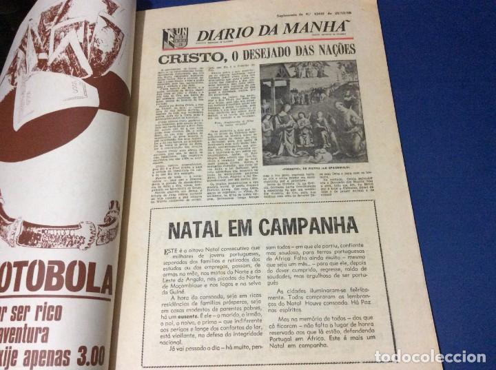 Coleccionismo de Revistas y Periódicos: Suplemento do Diario da manhã. Navidad 1968 - Foto 2 - 183821525