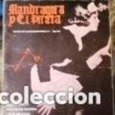 Colecionismo de Revistas e Jornais: REVISTA MANDRÁGORA Y EL PIRATA 1981 50 PÁGS EL ZURDO JAVIER MEMBA, JAIME CHÁVARRI, ALBERTO MASEGOSA.. Lote 183822837
