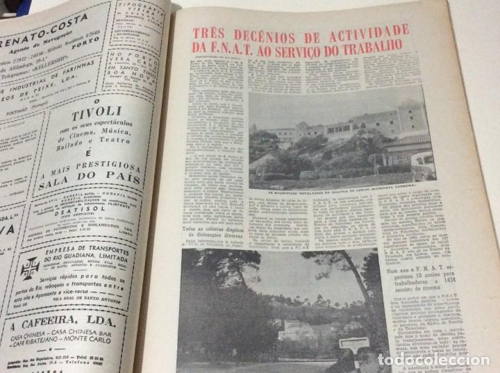 Coleccionismo de Revistas y Periódicos: Suplemento do Diario da manhã, 28 de Maio de 1966. 40 anos de política Social Coporativa. Escasa - Foto 4 - 183824528