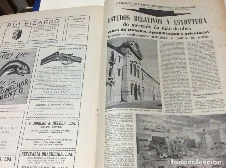 Coleccionismo de Revistas y Periódicos: Suplemento do Diario da manhã, 28 de Maio de 1966. 40 anos de política Social Coporativa. Escasa - Foto 6 - 183824528