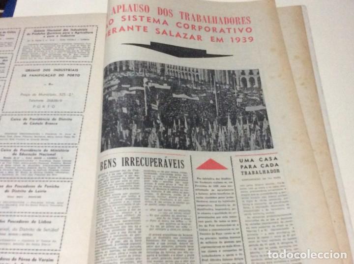 Coleccionismo de Revistas y Periódicos: Suplemento do Diario da manhã, 28 de Maio de 1966. 40 anos de política Social Coporativa. Escasa - Foto 7 - 183824528