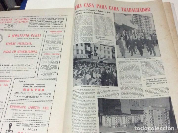 Coleccionismo de Revistas y Periódicos: Suplemento do Diario da manhã, 28 de Maio de 1966. 40 anos de política Social Coporativa. Escasa - Foto 8 - 183824528