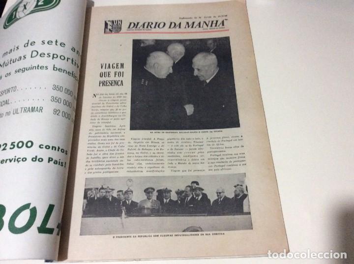 Coleccionismo de Revistas y Periódicos: Suplemento do Diario da manhã, 1968. Viagem presidencial à Guiné e Cabo Verde. Escasa. - Foto 2 - 183824976