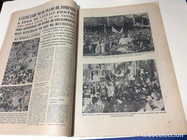 Coleccionismo de Revistas y Periódicos: Suplemento do Diario da manhã, 1968. Viagem presidencial à Guiné e Cabo Verde. Escasa. - Foto 3 - 183824976