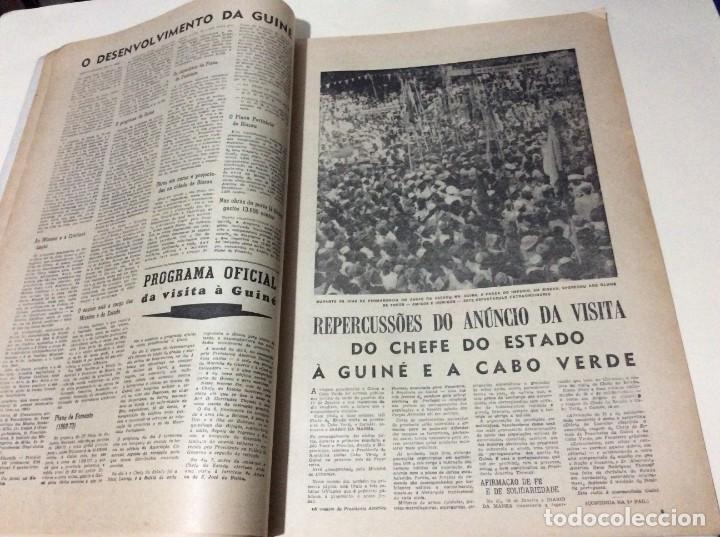Coleccionismo de Revistas y Periódicos: Suplemento do Diario da manhã, 1968. Viagem presidencial à Guiné e Cabo Verde. Escasa. - Foto 4 - 183824976