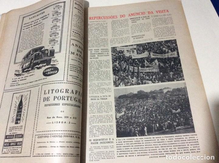 Coleccionismo de Revistas y Periódicos: Suplemento do Diario da manhã, 1968. Viagem presidencial à Guiné e Cabo Verde. Escasa. - Foto 5 - 183824976