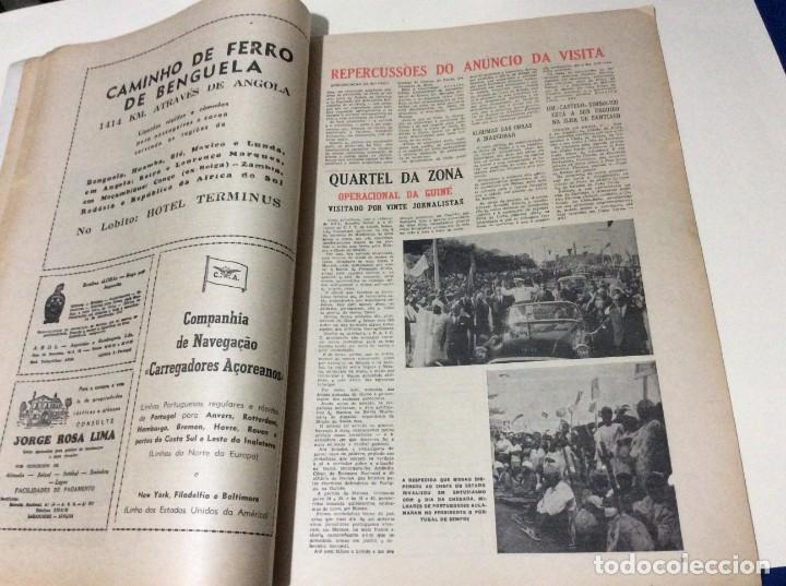 Coleccionismo de Revistas y Periódicos: Suplemento do Diario da manhã, 1968. Viagem presidencial à Guiné e Cabo Verde. Escasa. - Foto 6 - 183824976