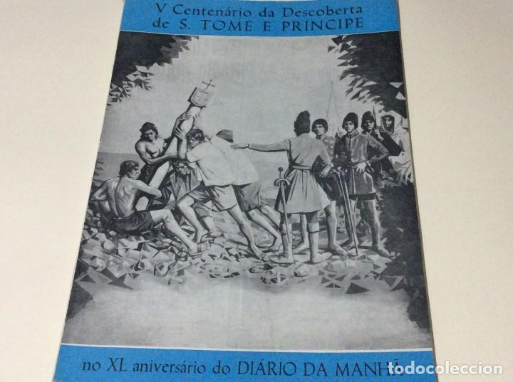 DIÁRIO DA MANHÃ. SUPLEMENTO DE 4 DE ABRIL DE 1970. GRANDES DIMENSIONES. (Coleccionismo - Revistas y Periódicos Modernos (a partir de 1.940) - Otros)