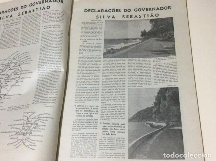 Coleccionismo de Revistas y Periódicos: Diário da manhã. Suplemento de 4 de Abril de 1970. Grandes dimensiones. - Foto 3 - 183826406