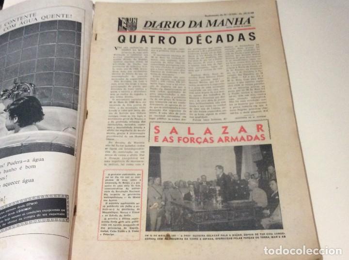 Coleccionismo de Revistas y Periódicos: Suplemento do Diario da manhã, 1966. Províncias do Minho aos Açores. - Foto 2 - 183828058