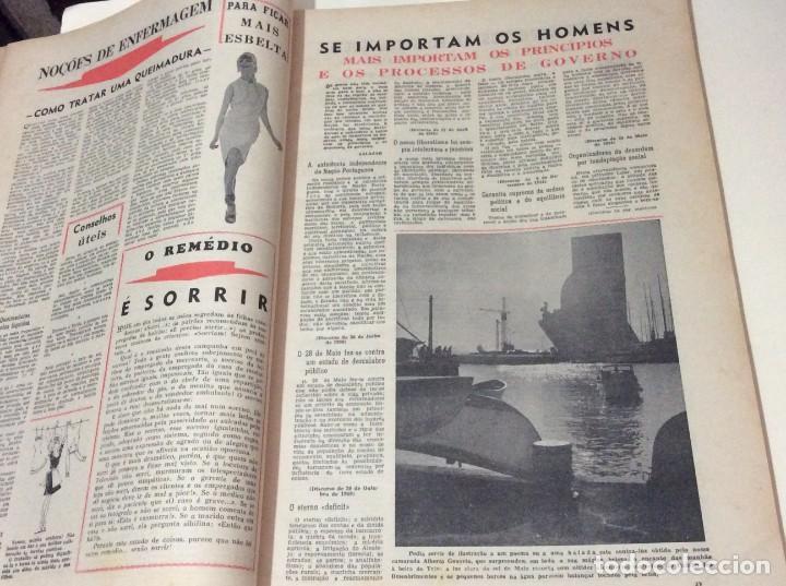 Coleccionismo de Revistas y Periódicos: Suplemento do Diario da manhã, 1966. Províncias do Minho aos Açores. - Foto 4 - 183828058