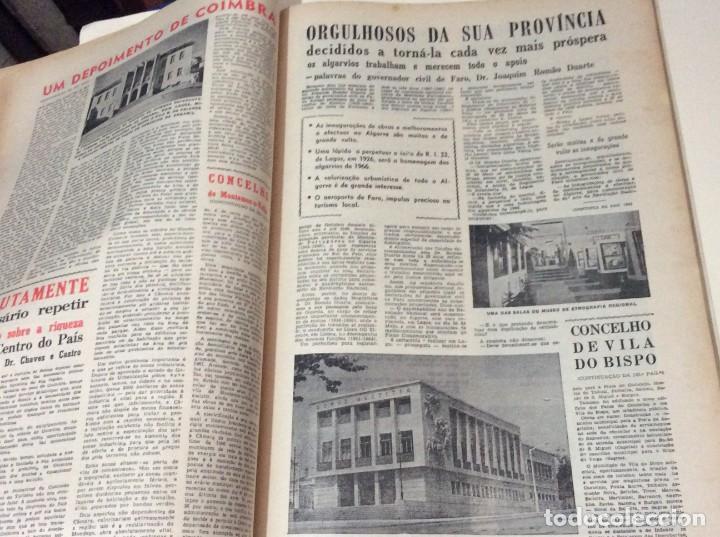 Coleccionismo de Revistas y Periódicos: Suplemento do Diario da manhã, 1966. Províncias do Minho aos Açores. - Foto 7 - 183828058