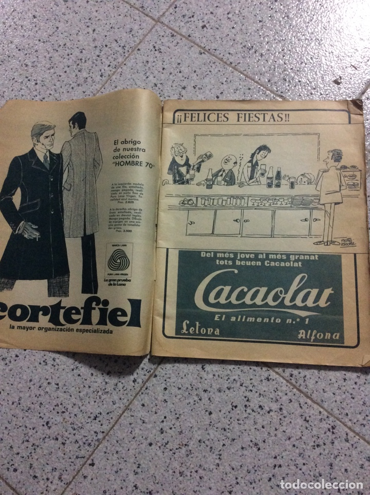 Coleccionismo de Revistas y Periódicos: Revist del Barcelona 1969 - Foto 2 - 183828688