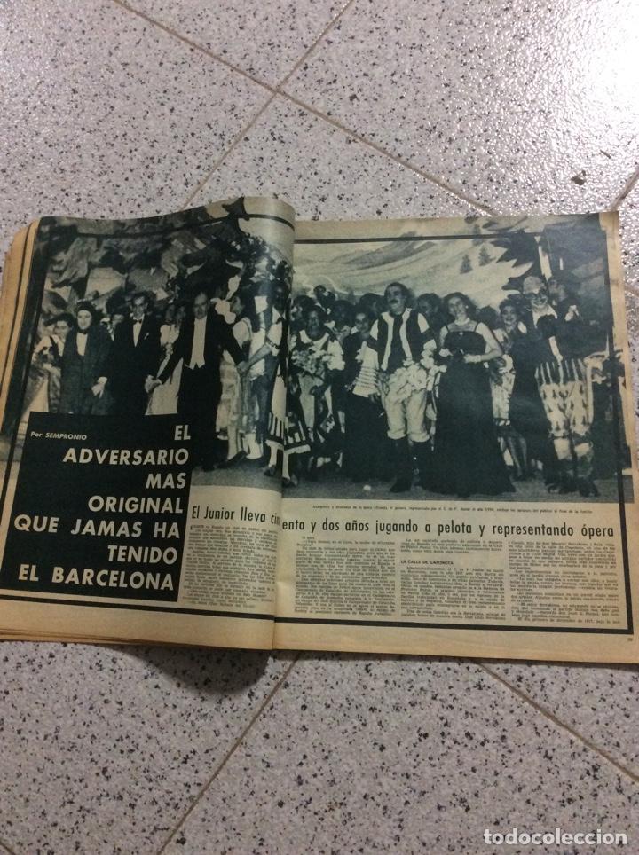 Coleccionismo de Revistas y Periódicos: Revist del Barcelona 1969 - Foto 4 - 183828688