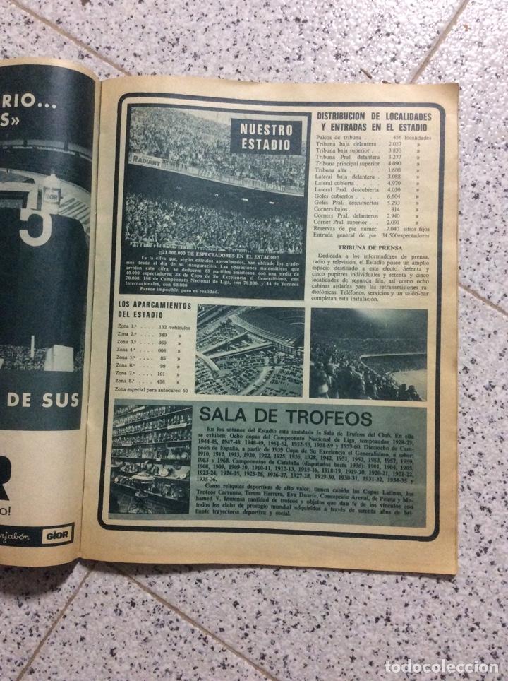 Coleccionismo de Revistas y Periódicos: Revist del Barcelona 1969 - Foto 5 - 183828688