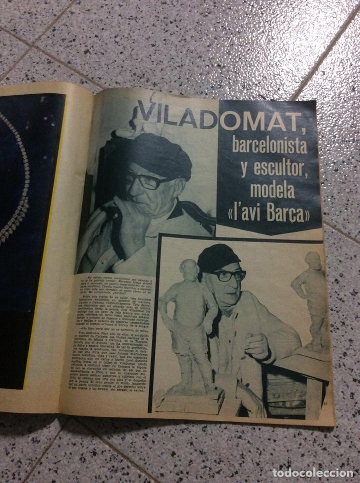 Coleccionismo de Revistas y Periódicos: Revist del Barcelona 1969 - Foto 6 - 183828688