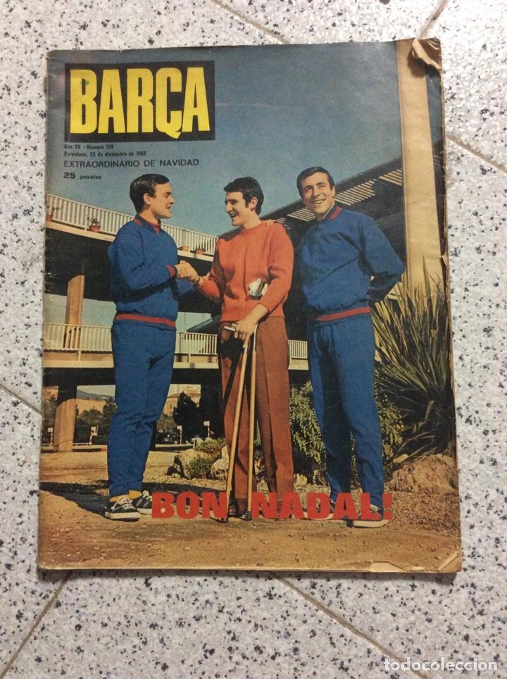 REVIST DEL BARCELONA 1969 (Coleccionismo - Revistas y Periódicos Modernos (a partir de 1.940) - Otros)