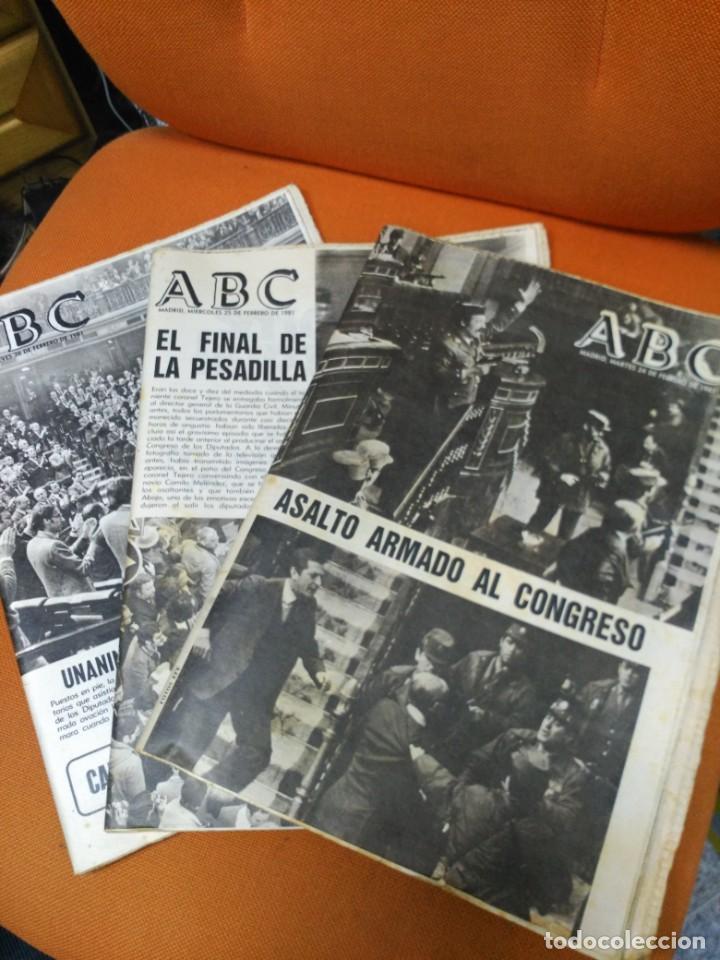LOTE ABC FEBRERO 1981 (Coleccionismo - Revistas y Periódicos Modernos (a partir de 1.940) - Otros)