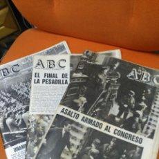 Coleccionismo de Revistas y Periódicos: LOTE ABC FEBRERO 1981. Lote 183829112