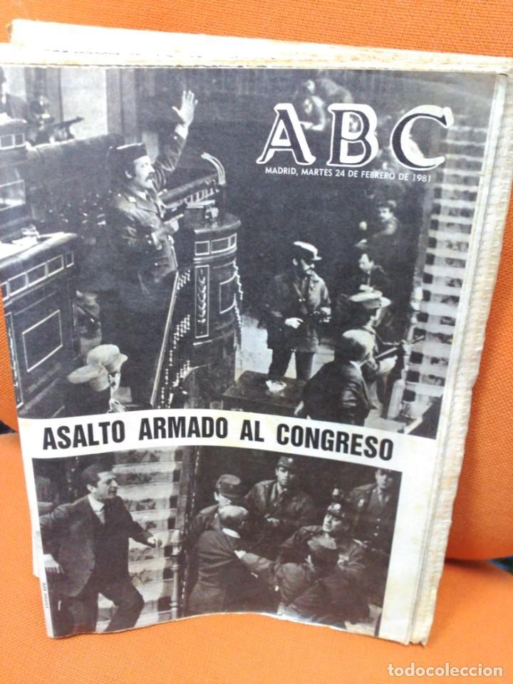 Coleccionismo de Revistas y Periódicos: Lote ABC febrero 1981 - Foto 2 - 183829112