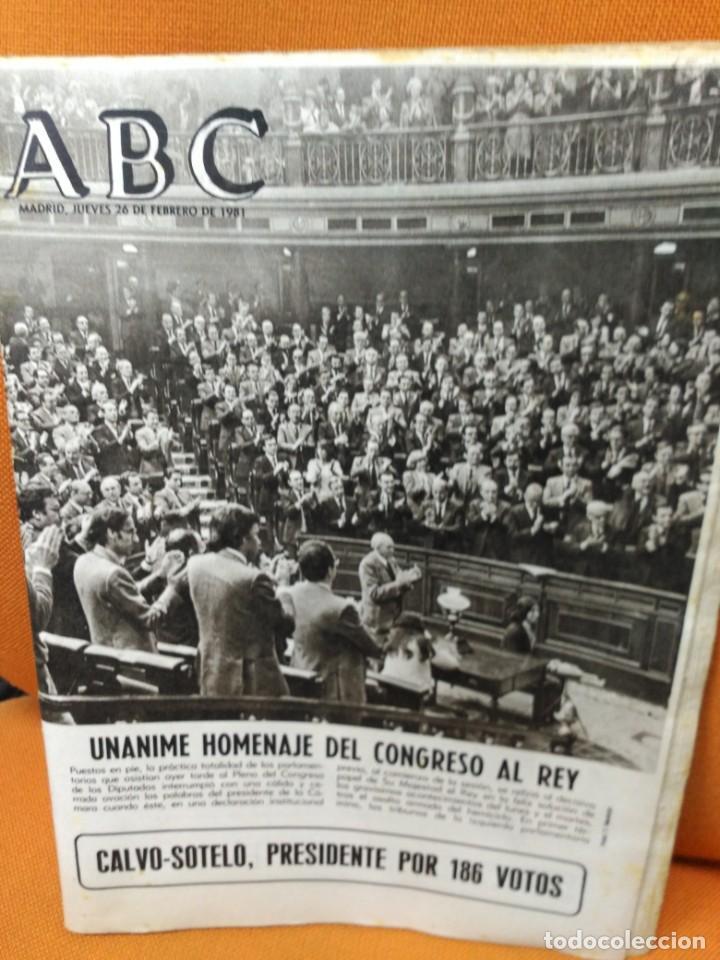 Coleccionismo de Revistas y Periódicos: Lote ABC febrero 1981 - Foto 3 - 183829112