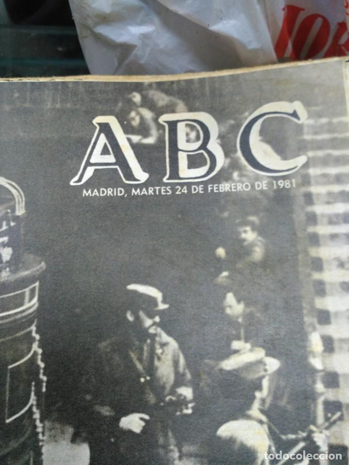 Coleccionismo de Revistas y Periódicos: Lote ABC febrero 1981 - Foto 5 - 183829112