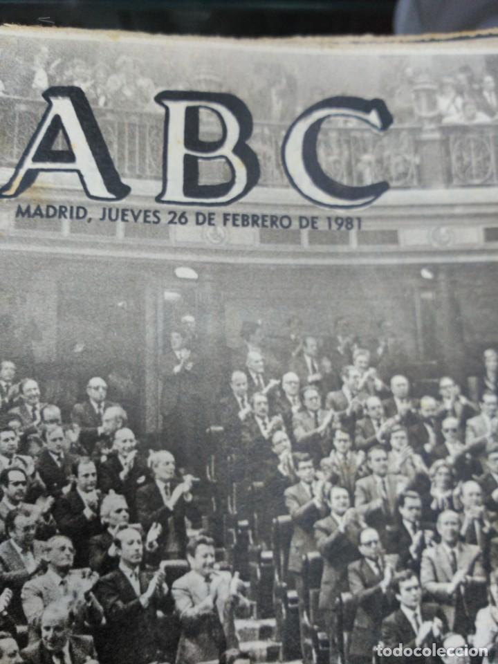Coleccionismo de Revistas y Periódicos: Lote ABC febrero 1981 - Foto 7 - 183829112