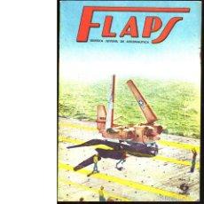 Coleccionismo de Revistas y Periódicos: FLAPS. REVISTA JUVENIL DE AERONÁUTICA. Nº 7. 1 DE ENERO DE 1961. Lote 183843230