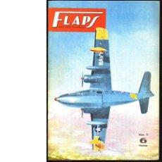 Coleccionismo de Revistas y Periódicos: FLAPS. REVISTA JUVENIL DE AERONÁUTICA. Nº 11. 1 DE MARZO DE 1961. Lote 183843631