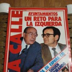 Coleccionismo de Revistas y Periódicos: REVISTA LA CALLE N.53 AÑO 79. Lote 183843913