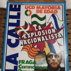 Coleccionismo de Revistas y Periódicos: REVISTA LA CALLE N.50 AÑO 79. Lote 183844308