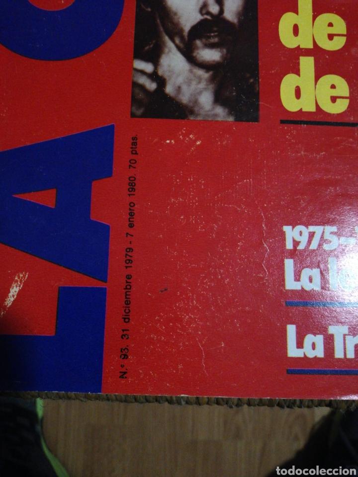 Coleccionismo de Revistas y Periódicos: REVISTA LA CALLE N.93 AÑO 79 - Foto 2 - 183844686