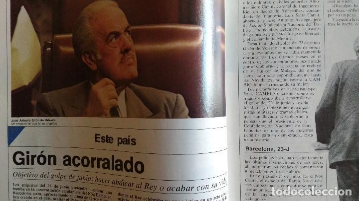 Coleccionismo de Revistas y Periódicos: CAMBIO 16 Nº 503-1981 - GIRON ACORRALADO - EXCLUSIVA 23-J EL SECUESTRO DEL REY - MOTO BMW - Foto 10 - 183844753
