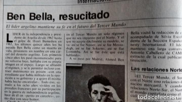 Coleccionismo de Revistas y Periódicos: CAMBIO 16 Nº 503-1981 - GIRON ACORRALADO - EXCLUSIVA 23-J EL SECUESTRO DEL REY - MOTO BMW - Foto 12 - 183844753
