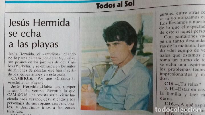 Coleccionismo de Revistas y Periódicos: CAMBIO 16 Nº 503-1981 - GIRON ACORRALADO - EXCLUSIVA 23-J EL SECUESTRO DEL REY - MOTO BMW - Foto 14 - 183844753