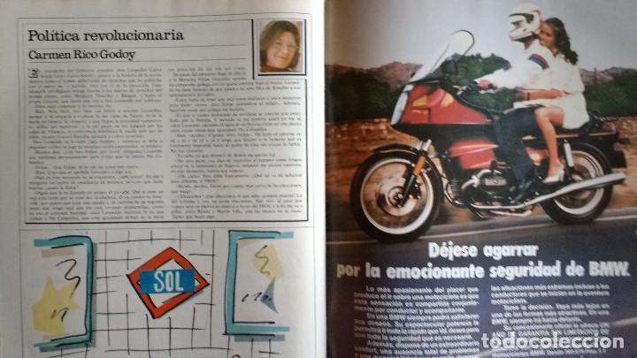 Coleccionismo de Revistas y Periódicos: CAMBIO 16 Nº 503-1981 - GIRON ACORRALADO - EXCLUSIVA 23-J EL SECUESTRO DEL REY - MOTO BMW - Foto 20 - 183844753