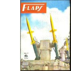 Coleccionismo de Revistas y Periódicos: FLAPS. REVISTA JUVENIL DE AERONÁUTICA. Nº 15. 1 DE MAYO DE 1961. Lote 183845127