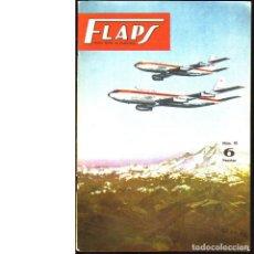 Coleccionismo de Revistas y Periódicos: FLAPS. REVISTA JUVENIL DE AERONÁUTICA. Nº 16. 16 DE MAYO DE 1961. Lote 183845485