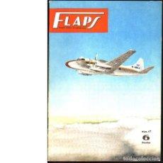 Coleccionismo de Revistas y Periódicos: FLAPS. REVISTA JUVENIL DE AERONÁUTICA. Nº 17. 1 DE JUNIO DE 1961. Lote 183845710