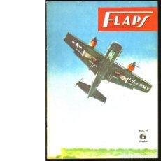 Coleccionismo de Revistas y Periódicos: FLAPS. REVISTA JUVENIL DE AERONÁUTICA. Nº 19. 1 DE JULIO DE 1961. Lote 183846266