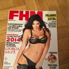 Coleccionismo de Revistas y Periódicos: REVISTA FHM #117 GEORGIA SALPA COVER 2014 ALYSSA ARCE MICHELLE KEEGAN. Lote 183846643