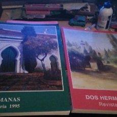 Coleccionismo de Revistas y Periódicos: DOS HERMANAS, 1995 Y 1997, REVISTA DE FERIA, 204 Y 232 PAGINAS. Lote 183858772
