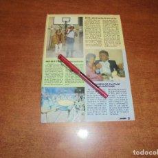 Coleccionismo de Revistas y Periódicos: CLIPPING 1986: FERNANDO ROMAY - PEPE DOMINGO CASTAÑO.. Lote 183869356