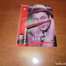 Coleccionismo de Revistas y Periódicos: COLECCIONABLE 1986: GRANDES VIDAS. GARY COOPER. Lote 183869396