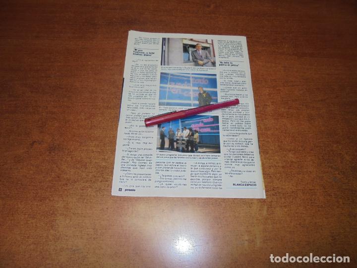 Coleccionismo de Revistas y Periódicos: CLIPPING 1986: PEDRO OSINAGA - Foto 3 - 183869428