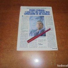 Coleccionismo de Revistas y Periódicos: CLIPPING 1986: PEDRO OSINAGA . Lote 183869428