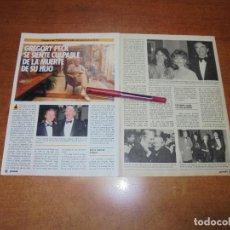 Coleccionismo de Revistas y Periódicos: CLIPPING 1986: GREGORY PECK. Lote 183869450