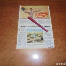 Coleccionismo de Revistas y Periódicos: CLIPPING 1986: EL CORDOBÉS, PERFIL HUMANO DE UN MITO. CAP. 2. Lote 183869460