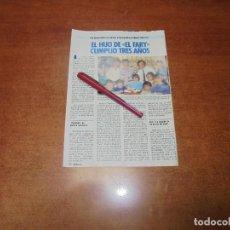 Coleccionismo de Revistas y Periódicos: CLIPPING 1986: EL FARY - UN ALCALDE LLAMADO CLINT EASTWOOD. Lote 183869490